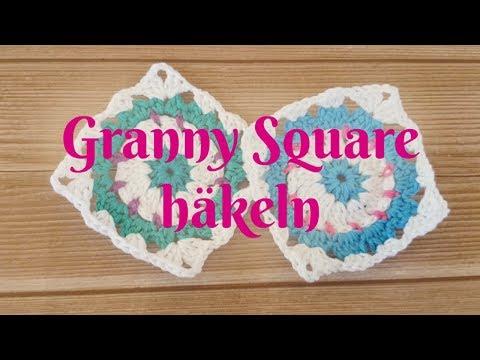 Granny Square Blume