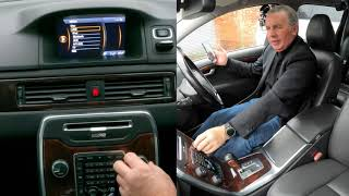 How to stream audio from a mobile through the bluetooth audio system in a 2011 Volvo V70