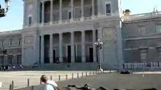 Madrid. Ringing of Bells near King's Palace