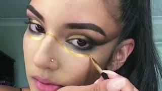 THE GLITTER TRIBE Warrior Makeup Tutorial