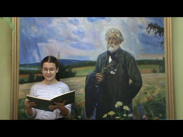 Изображение предпросмотра прочтения – ВасилисаВасилевич читает произведение «Как хороши, как свежи были розы...» И.С.Тургенева