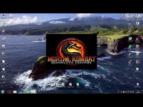 How To Dowload,Install And Crack Mortal Kombat Komplete Edition (MKKE)