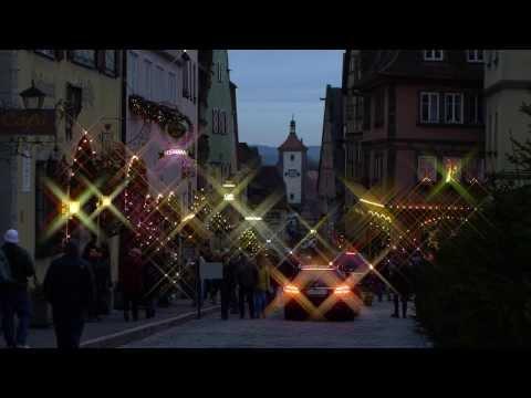 Rothenburg ob der Tauber im Dezember 2012 gefilmt mit Panasonic Lumix GH2 in Full HD