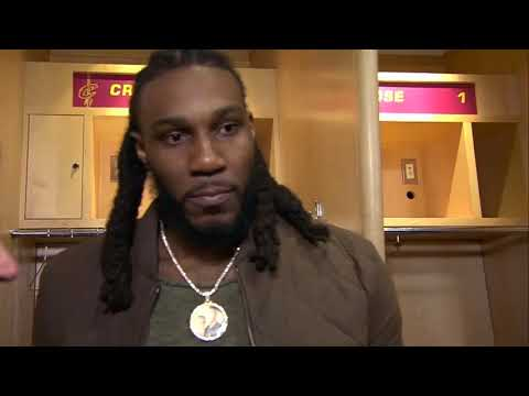 Jae Crowder Post Match Interview | Cleveland Cavaliers vs. Brooklyn Nets| HD