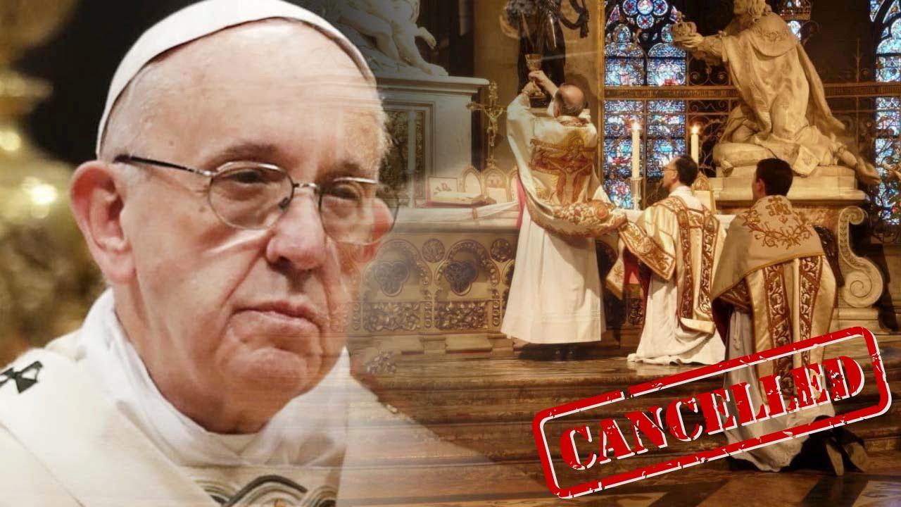 🔴Misa Tradicional Atacada🔴 Papa Francisco Pone Fin Al Summorum Pontificum De Benedicto XVI