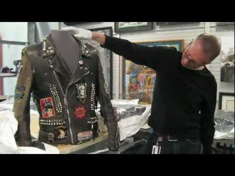 A closer look at Michael Jackson's leather jacket