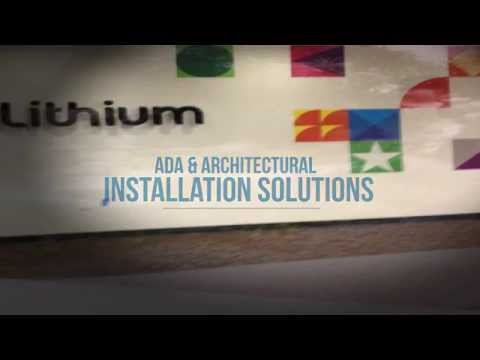Full service graphic installation, sign installation, and banner installations