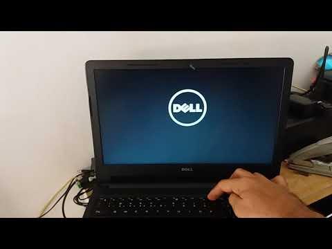 Windows 7 no Dell Inspiron 15 série 3000 via usb