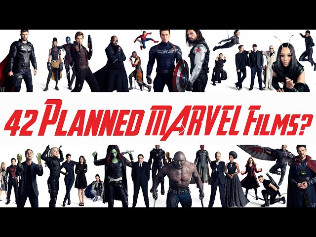 MCU // Marvel Has 42 Planned Films?!