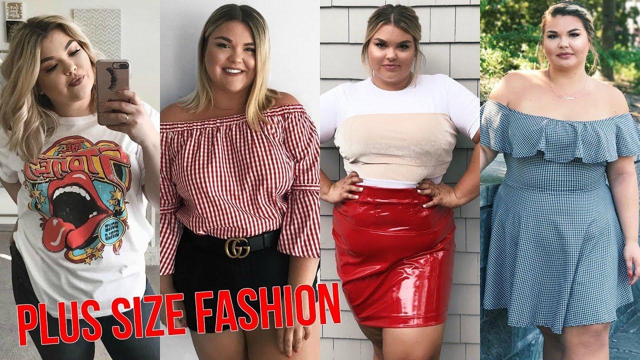 72c5b76b87 Plus Size Fashion   Ropa de Moda para Gorditas Primavera Verano 2017 ...