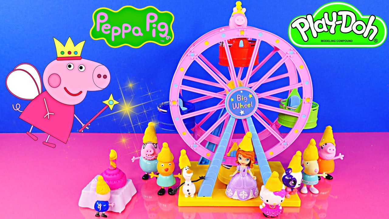 Peppa Pig and Candy Cat Birthday Party + Peppa Pig Big ...
