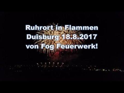 Duisburg Ruhrort in Flammen von Fog Feuerwerk (Vom 18.08.2017)