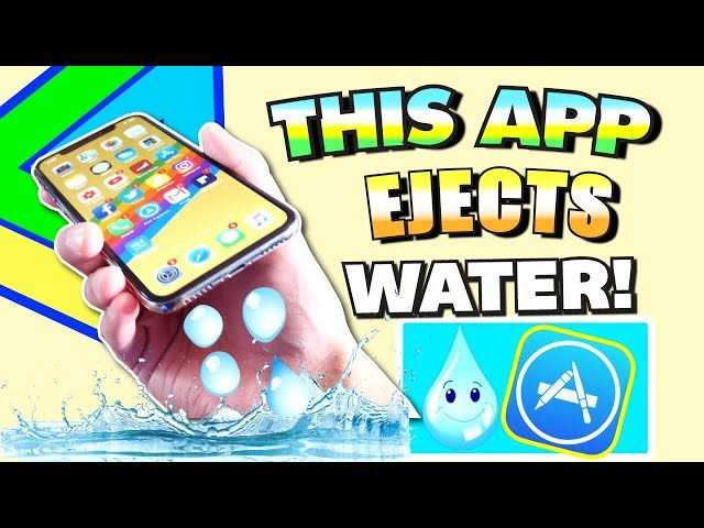 THIS App Ejects Water From iPhone - (FIX Muffled Speaker and Remove