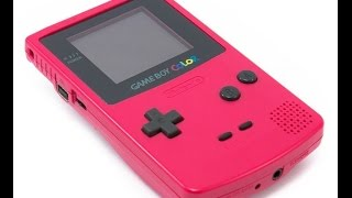 Fixing and Cleaning a Gameboy Color