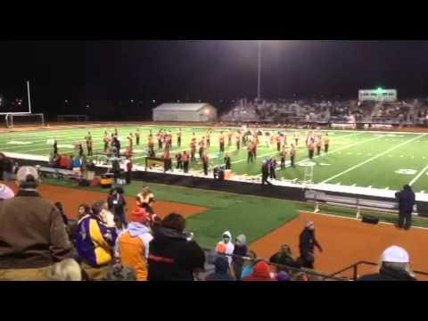 Centerburg High School band