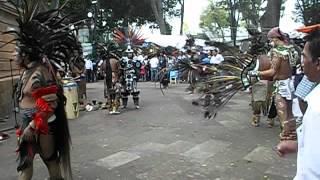 Danza Antigua Mesoamericana (Ancient Mesoamerican Dancing)- Cholula, Puebla, México
