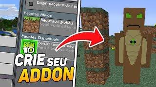 COMO CRIAR ADDONS NO MINECRAFT PE ! (Minecraft Pocket Edition)