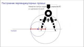 7 класс. Глава3 - Задачи на построение. Построение перпендикулярных прямых