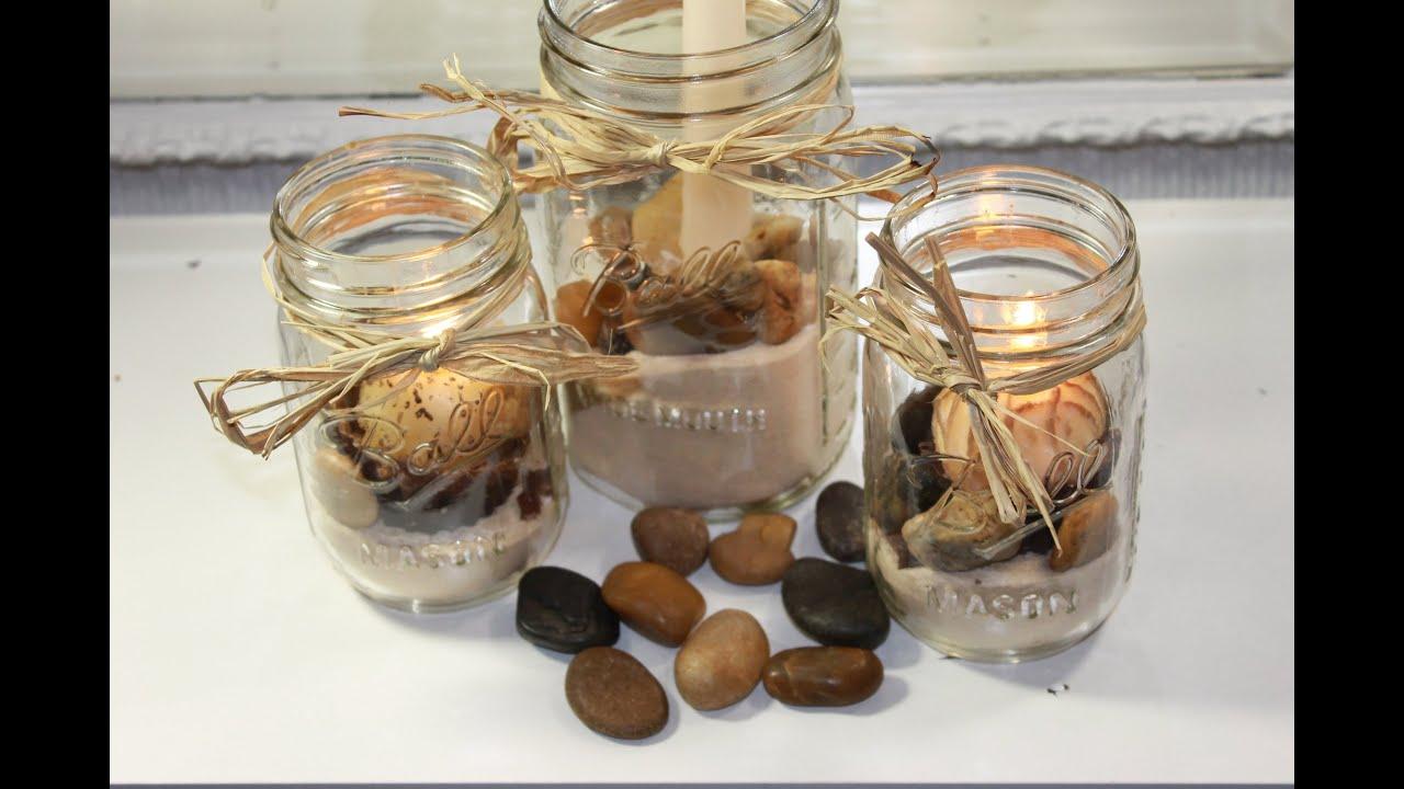 Diy Mason Jar Candles Youtube