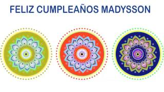 Madysson   Indian Designs - Happy Birthday