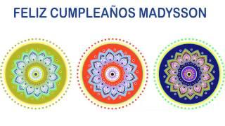 Madysson   Indian Designs - Happy Birthday