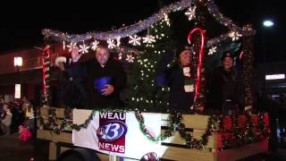 WEAU float - Bridge to Wonderland Parade