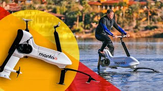 This $7500 motorized e-bike lets you pedal through the water 🌊