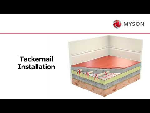 MYSON - How to install Underfloor Heating