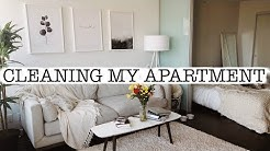 Cleaning My Entire Apartment | Cleaning Motivation!