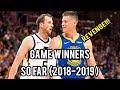 NBA Best Game Winners SO FAR (2019)