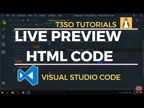 Live Preview HTML Code In Browser With Visual Studio Code