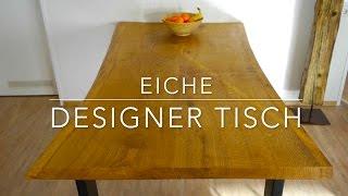 Designer Tisch selber bauen - Anleitung ★MrHandwerk ★