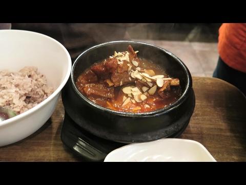 Post, Squid, Ribs, Stew & Bingsu | Sinchon South Korea