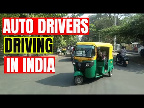Worst Auto driver in India | Kids in danger | Personal Mistake | Reckless Driving