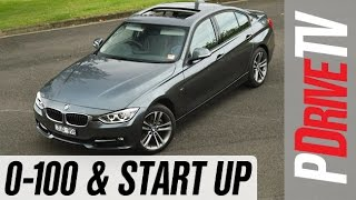 2014 BMW 328i Sport Line 0-100km/h and engine sound