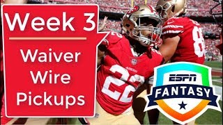 Week 3 Waiver Wire Targets | 2018 Fantasy Football