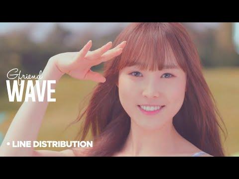 GFRIEND - Wave: Line Distribution
