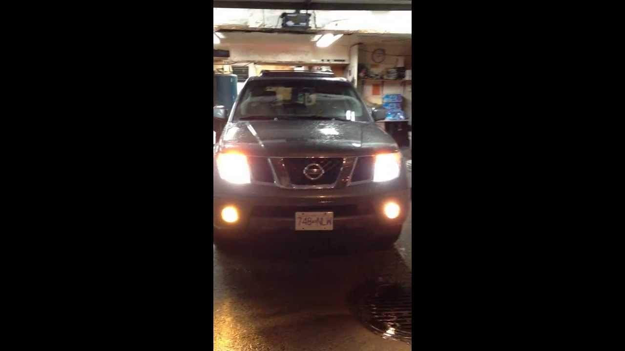 05 Nissan Pathfinder LED Tail Light And Bi Xenon Headlamps