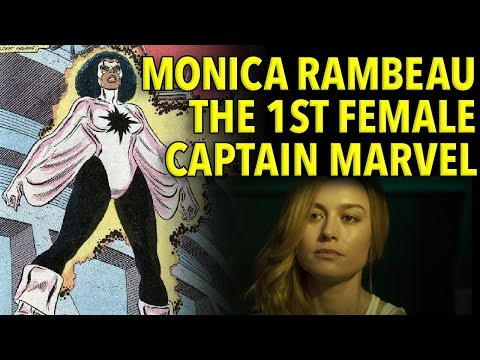 Monica Rambeau, Marvel's Captain Marvel BEFORE Carol Danvers