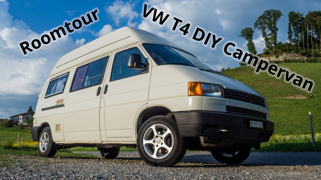 Fantastique VW T4 Syncro DIY Campervan Roomtour - Boccalino Bus before YM-05