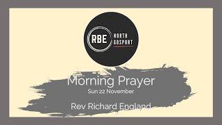 North Gosport Morning Prayer 22 Nov 2020