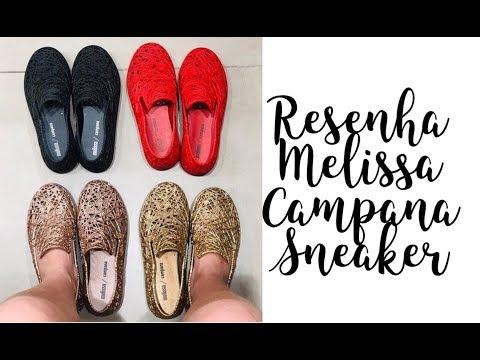 Nanda Barros - resenha Melissa Campana sneaker