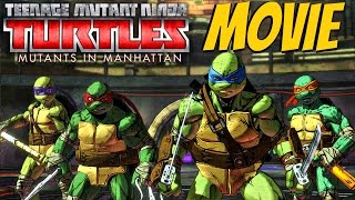 Teenage Mutant Ninja Turtles Mutants in Manhattan - All Cutscenes / Full Movie 2016