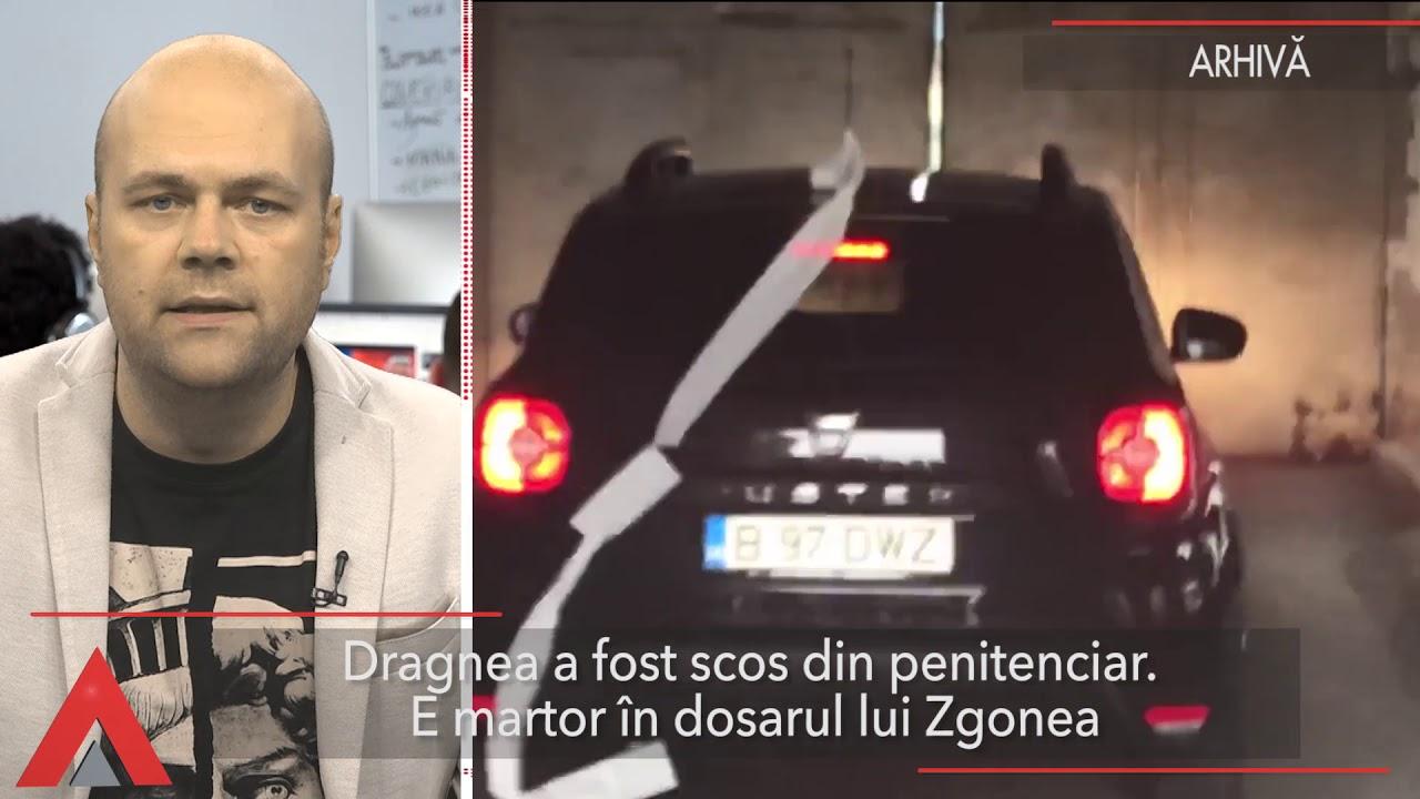 Stiri Mediafax 12 Septembrie - Dragnea a fost scos din penitenciar. E martor în dosarul lui Zgonea