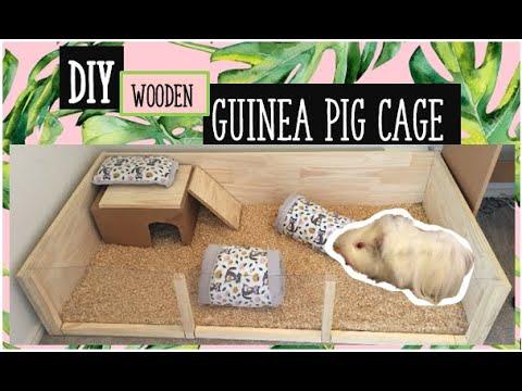 Guinea Pig Cage tutorial DIY - YouTube