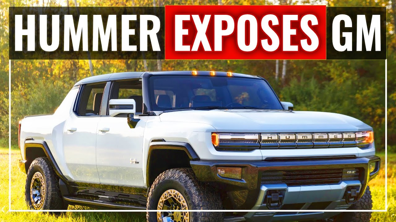 Hummer EV Exposes Tesla's Edge Over GM