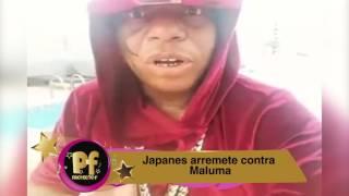 JAPANESE LE DEJA UN MENSAJE A MALUMA POR SU COMPORTAMIENTO EN PANAMA