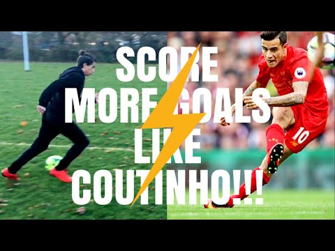 HOW TO SHOOT LIKE COUTINHO - ACADEMY LEVEL TECHNIQUES FOR 14 YEAR OLD FOOTBALLERS