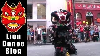 CYSM - Lion Dance Fish offering - Chinatown Melbourne CNY 2012