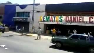 Saqueos en Ciudad Ojeda - Venezuela